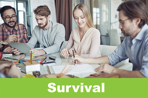Survival One Week Intensive course / 6 - 10 July 2020